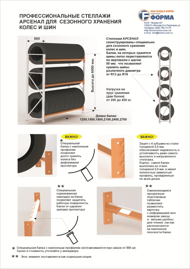 Как сделать стеллаж для хранения шин своими руками 33